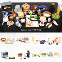 Wholesale ORCARA Japanese Kitchen Food Miniature Dollhouse Cooking With The Master Re ment Size Set of Dolls Accessories