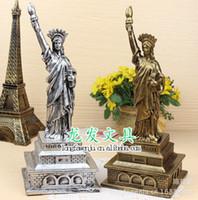 bamboo statue - Statue of Liberty piggy bank Creative Vinyl piggy bank