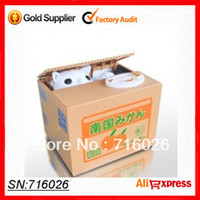 bank cost - By Post High quality With Cost Price Innovative Cute Coin Stealing Cat Money Box Innovative Money Bank Toys