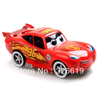 Wholesale plastic car MaoMao red Car piggy bank