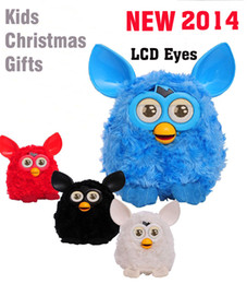 Wholesale New LCD Firby Liquid Crystal Phoebe Firbi Boom Recording Plush Electronic Toys Talking Repeat toys Compatible with Furby