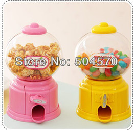 Wholesale 10pcs Jelly Candy Machine Chocolate bean Storage jar Kids Novelty Gifts Candy Boxes For Birthday Party