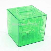 bank collectibles - 2015 Money Maze Bank Saving Coin Cash Collectibles Gift Box D Puzzle Game Color