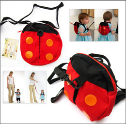 Wholesale Child keeper Baby Safety Harness Kid Harnesses Toddler Reins Backpack Straps with color box packaging sample