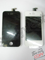 Wholesale Original G full front assembly with LCD touch screen digitizer midframe all in for iphone G