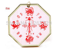 bad feng shui - Town house to ward off bad luck evil spirit medallion quarter compass feng shui bagua mirror