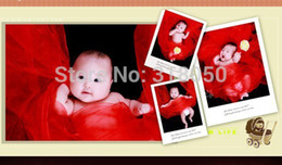 Wholesale The new children s photography studio props props blanket photo mat days full moon children wrapped in cloth wrapped yarn