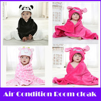 acrylic air bath - 1PCS Fashion Warm Baby Cloak in Air Condition Room Kids Bath Towel Bebe Receiving Blanket Newborn to keep Warm in Autumn Winter