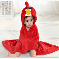 bebe hoodies - 1 Velvet Baby Cloak Girl Boy Bebe Kids Shawl Animals Blanket Infant s Cape Clothing Coat Hoodie Romper Receiving Blanket