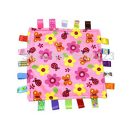Wholesale HOT sell NEW FASHION lovely Ultra soft multi Comfort appease the towel cloth toy Baby Infant Preferred