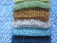 acrylic shower bar - cm Crochet Mohair Wraps Newborn Photography Wraps Baby Shower Gift Newborn Photo Props