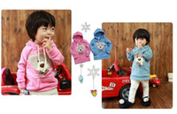 baby clothes teddy bear - New arrival kids hoodie winter children clothing baby teddy bear Clothes Sweater Baby wear