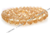 faceted rondelle beads - 140x Gold Crystal Glass Faceted Rondelle Beads Fit Bracelets Necklace DIY Jewelry Accessories