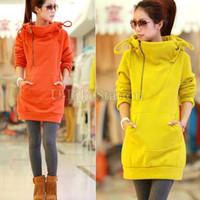 Wholesale New Fashion Womens Long Sleeve Hoodie Cardigans Coat Women s hoodie Sports Wear Track Hoodie Sweatshirt