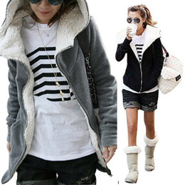 Winter New Womens Sweatershirts hoodies Fleece Long Sleeve Coat Hooded Jacket Outwear Tops Coats women Cardigans