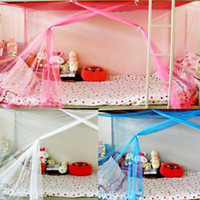 Wholesale cm Elegant Single Bed Mosquito Net Students Dormitory Bed Canopy Curtain Net of Insect Special Encryption