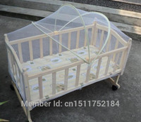 bassinet cradle - Cheapest Baby Bed Crib Bassinet Folding Anti Mosquito Net Infant Fantastic Bow Nets Cradle Vaulted Nets M04