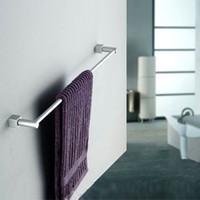 aluminum towel bar - New Aluminum Wall Mounted Bathroom Towel Holders Towel Bars Towel Racks