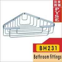 bathroom wicker - 2015 Bathroom Accessories Toothbrush Holder Bh231 Brass Chrome Wicker Corner Baskets Bathroom Accessory Fitting