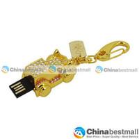Wholesale New Arrival GB GB GB GB GB Stylish Diamond Car Style USB Flash Drives with Keychain Drives amp Storage