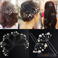 Wholesale Fashion New Wedding Bridal Bridesmaid Pearls Hair Pins Clips Comb Headband OUN