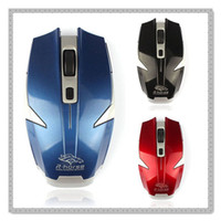 Cheap Wholesale-Best 2015 mouse 1PC 2.4G Wireless Optical Gaming Mouse Mice For MAC MacBook Laptop PC computer wireless mouse I-eat