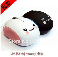 animation laptops - Freeshipping Hotale Wired Usb Notebook Computer Mouse Girl Character Animation Cartoon Dear Little Mouse