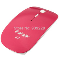 Wholesale Brand New Slim Bluetooth Wireless Mouse for Windows XP Vista For Android Tablets Computer Wireless notbook laptop