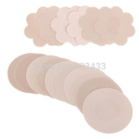 disposable dress - Pair Women s Breast Petals Self Adhesive Nipple Covers Pads Patches Wedding Dress Braless Disposable
