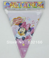 banner music - minnie mouse music party bunting banner bag flags per bunting length m party favors happy birthday