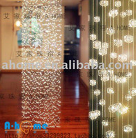 acrylic divider - 10strands x M height Crystal Curtain Wedding Decoration Room Divider Acrylic Beaded Strands