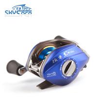 baitcaster fishing rods - Skysper baitcaster rod and reel left hand new baitcaster reels BB
