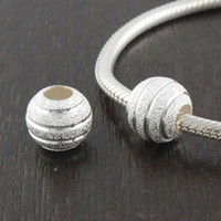 Metals authentic vintage jewelry - Fits Pandora Bracelet DIY Making Authentic Sterling Silver Vintage Beads Brand Charms Women Jewelry Drop Shipping