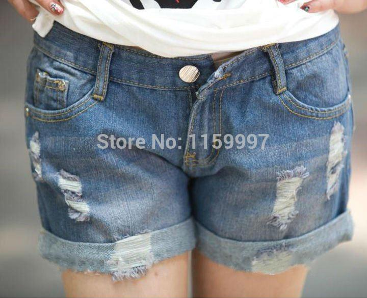 Womens Jean Shorts Sale - The Else