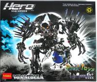 auction factory - Decool Hero Factory Star War Soldiers Robots Von Nebula Building Block Sets Auction Figure Educational Bricks Toys