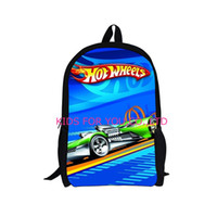 Wholesale New Design Kids Game Team Hot Wheels DRIFT Backpack Child Cartoon Cars Boys School Backpacks Bag Men t Backpack for