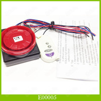 Wholesale 1Pcs Motocycle Moto Alarm System Vehicle Vibration Sensor Alarm With Wireless Control