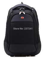 Wholesale 2015hot SwissGear Pegasus quality goods travel bag and business backpack nylon black hiking backpack practical backpack