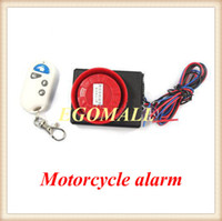 anti theft sensors - Hot sale Vibration Detector Sensor anti theft Alarm for motorcycle and Electric motor car with wireless remote H201