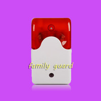 alarm system companies - New Indoor Wired Alarm Siren with Strobe Flash Light V Home Company Security Alarm System Strobe Siren Horn