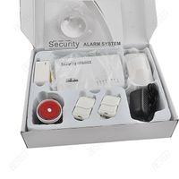 auto defense - high sensitivity Wireless defense zones PIR Home Security Burglar Voice Alarm System Auto Dialing Dialer