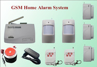 arm gsm - Wireless Home Alarm GSM Security Alarm System Remote control Setting Arm Disarm H2221