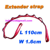 Wholesale suspension yoga extender strap rope daisy chain for Aerial Yoga Hammock freesshiping