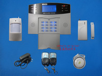 best auto alarm systems - Best Quality GSM SMS Wireless Burglar Alarm Home Security Systems Voice LCD Auto Dialer S214