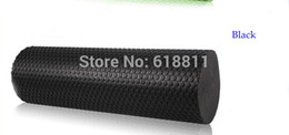 Wholesale 45cm x15cm Yoga pilates Eva Foam roller Body massage gym fitness rollers with trigger points Muscle relaxation w colors
