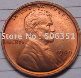 Wholesale S VDB Lincoln Penny Coins Copy coper manufacturing