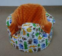 baby bumbo - baby bumbo seat cover zoo with orange dots minky