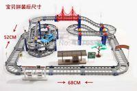 baby racing suit - children s toys Hot Wheels electric rail car train baby desktop multi long racing suits