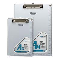 aluminum clip board - C1085 a4 a5 aluminum alloy plate clip writing board clip dianban file folder