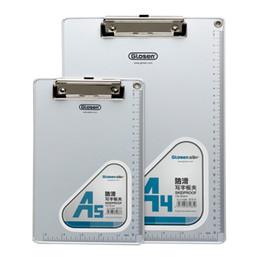 Wholesale C1085 a4 a5 aluminum alloy plate clip writing board clip dianban file folder